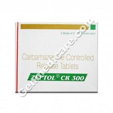 Zeptol CR 300 mg Tablet, Epilepsy