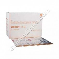 Zinetac 150 mg Tablet, Acid Reducers