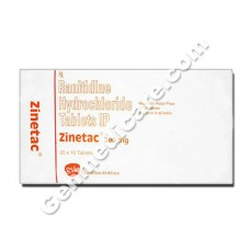 Zinetac 300 mg Tablet, Acid Reducers