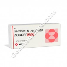 Zocor 10 mg Tablet, Cholesterol Reducer