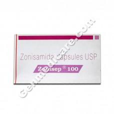 Zonisep 100mg Capsule, Epilepsy