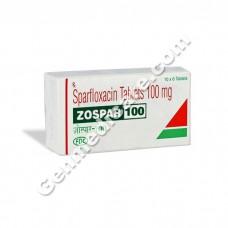 Zospar 100 mg Tablet, Antibiotics