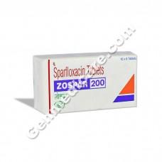 Zospar 200 mg Tablet, Antibiotics